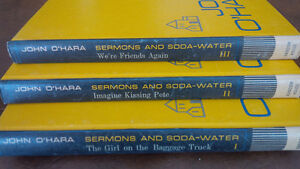 Sermons and Soda-Water, John O'Hara, 3 Book Set Kitchener / Waterloo Kitchener Area image 3