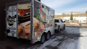 food truck & online catering business for sale!