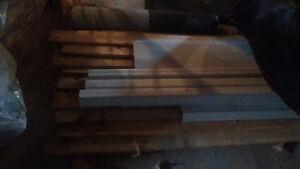 Insulation,12' pine t&g ,half roll shingle starter obo