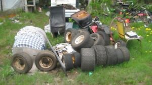 Ride on LAWNMOWERS FOR SALE AND TONS OF PARTS.