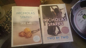 2 brand new (unread) Nicholas Sparks novels