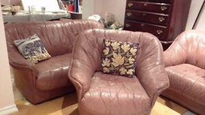 Free-Leather sofas