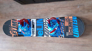 Brand NEW Snowboard and Bindings - 100 cm