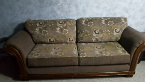 Brandnew couch set includes chair,love seat,tv mount,wine rack.