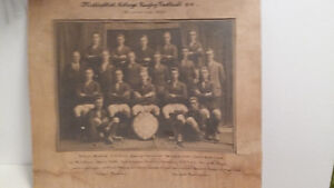 1923 Methodist College Rugby Photo