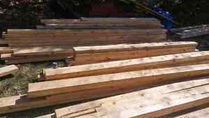 CEDAR 2 X 6 ROUGH CUT LUMBER CHEAP !!!