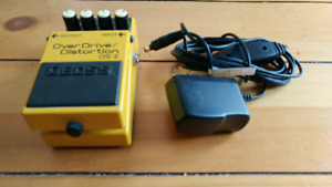 BOSS Overdrive / Distortion Pedal