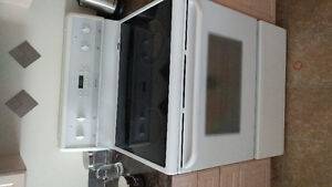 Frigidaire stove and fridge