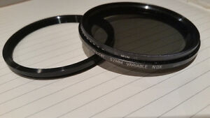 ProMaster 62mm Variable Neutral Density Filter + Step Up ring