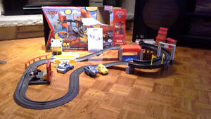 Cars 2 Fisher-Price/GeoTrax World Grand Prix RC Set