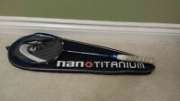 HEAD Nano 500 Badminton Racket with Case and Protective Glasses
