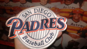 San diego padres mlb patch *big size*for jacket chest crest.new