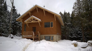 Chalet construction neuf style contemporaine