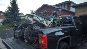 2009 kx 450f  new top end no ownership trade for new 2 stroor st
