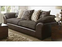 Sofa chair and footstool