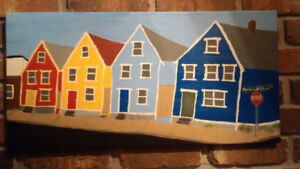 Painting of Agricola Street