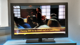 """40"""" BUSH LCD (NON SMART) FREEVIEW FULL HD TV, WITH REMOTE"""