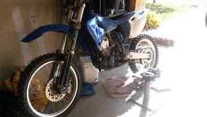 Yamaha dirt bike
