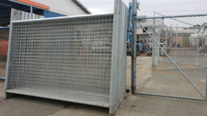 Temporary fence panel sets $45