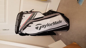 2017 Taylormade RH Stiff M1 Irons and Cart Bag
