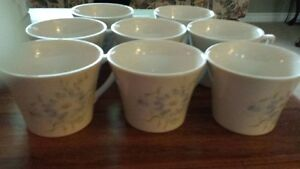 NEW 8 tea/coffee cups Portmeirion Seasons Collections (Flowers)