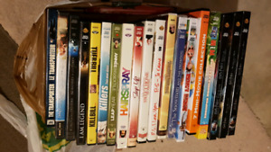 Dvds/Blu Rays/ps3 games