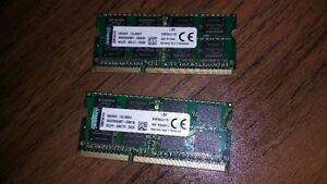 16 GB DDR3 (8 GB X 2) POUR DELL PRECISION M4800
