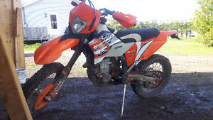 Street and Trail KTM 530 EXC R