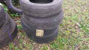 TWO  215/70R15  GOODYEAR INTEGRITY  M/S