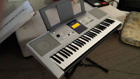 Yamaha Digital Keyboard with Stand