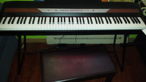 Digital Piano - Korg SP250BK 88-Key with Stand / Pedal / Bench