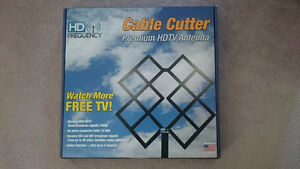 Cable Cutter Indoor/Outdoor HDTV Antenna
