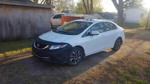 2015 Honda Civic EX Sedan - LOW KMS, EXTENDED WARRANTY