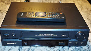 SAMSUNG VR8508C VHS PLAYER & VHS TO DVD SOFTWARE