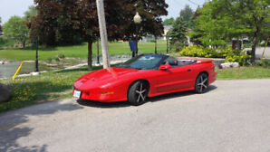 1995 Trans am convertible for sale