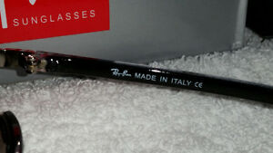 Brand new RAY BAN sunglasses. Made in Italy. Edmonton Edmonton Area image 4