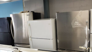 STAINLESS & USED APPLIANCES; FRIDGES,STOVES,COIN WASHERS DRYERS