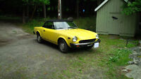 1978 Fiat 124 Spider- one owner car- REDUCED