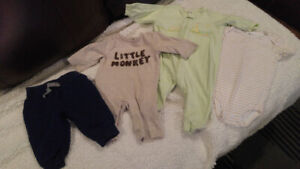 Boy's Lot, 0-6 Months