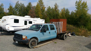 1999 Ford F350 for dually flat bed for sale