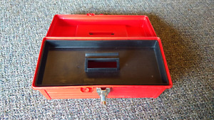 Red Plastic Toolbox