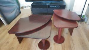 2 Tables de salon