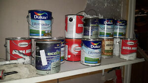 Numerous Full paint cans