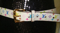 Brand New Louis Vuitton lage size belt