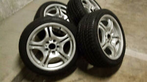 4 Dunlop Tires & Rims 4 sale $800.00