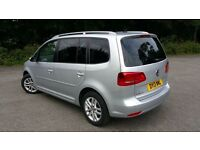 Vw touran diesel auto automatic dsg wanted