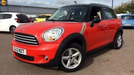 2012 Mini Countryman 1.6 Cooper 5dr Manual Petrol Hatchback