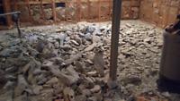 Demolition et rammasage pas cher prix imbattable.