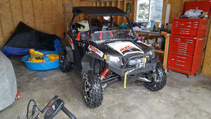 2013 RZR XP 900, Walker Evans edition with EPS