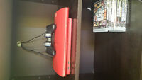 Ps3 500gb including  games,controller